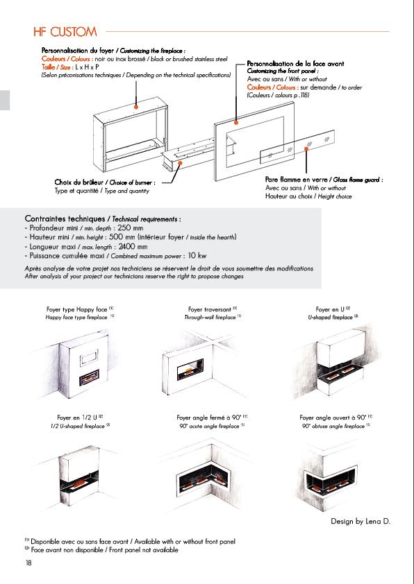 Chemin e thanol hf custom ignisial soditherm - Cheminee ethanol ignisial ...
