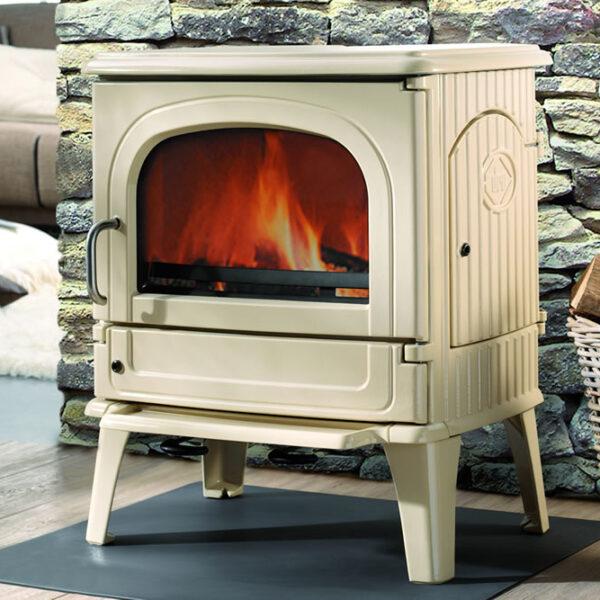 po le bois 64 cb fonte flamme soditherm. Black Bedroom Furniture Sets. Home Design Ideas