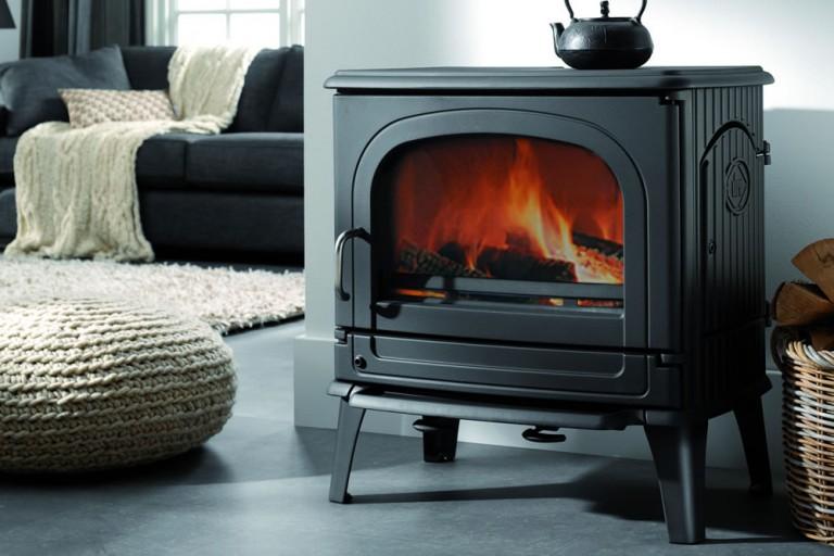 SODITHERM – Solutions de chauffage – Vente installation et entretien de poêles à granulés et poêles à bois, cheminées, inserts,poele-bois-78CB-laque-anthracite