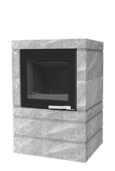 SODITHERM – Solutions de chauffage – Vente installation et entretien de poêles à granulés et poêles à bois, cheminées, inserts : poele-box-ollaire-xp54-black