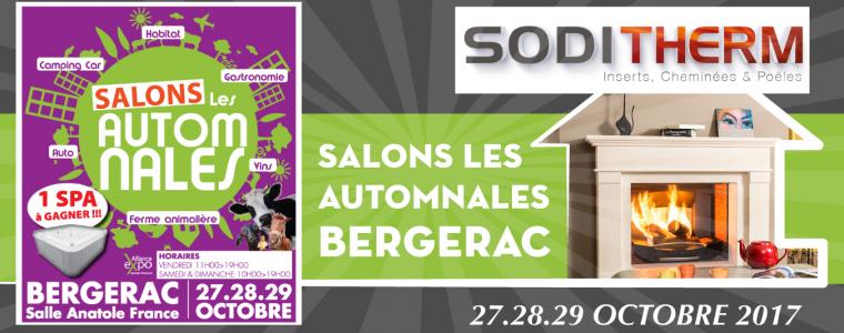 Soditherm Salon les automnales à Bergerac