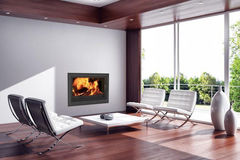 SODITHERM- Solutions de chauffage : insert bois cheminée
